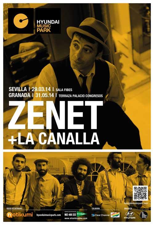 La Canalla y Zenet. Concierto Sevilla FIBES 29 marzo 2014